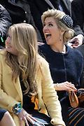 Koningsdag 2017 in Tilburg / Kingsday 2017 in Tilburg<br /> <br /> Op de foto / On the photo:  Koningin Maxima en prinses Amalia / Queen Maxima and Princes Amalia