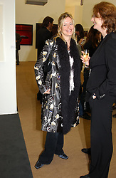 LADY HELEN TAYLOR she is expecting a baby in January at a private view of the 2004 Frieze Art Fair - a major exhibition attended by most of the leading contempoary art dealers held in Regents Park, London on 14th October 2004.NON EXCLUSIVE - WORLD RIGHTS