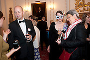 ALLAN PLENDERLEITH; EL ASHFIELD; LIZ THOMSON;, The People's Book Prize, The Stationers' Hall, Ave Maria <br /> Literary award voted for by the public and founded by Dame Beryl Bainbridge. 20 July 2011.<br /> <br />  , -DO NOT ARCHIVE-© Copyright Photograph by Dafydd Jones. 248 Clapham Rd. London SW9 0PZ. Tel 0207 820 0771. www.dafjones.com.