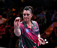 Laura Turner during the BDO World Professional Championships at the O2 Arena, London, United Kingdom on 9 January 2020.