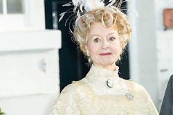 © Licensed to London News Pictures. 10/01/2014, UK. Liza Goddard, Agatha Christie: Black Coffee - Photocall, 22 Cresswell Place, London UK (Former home of Agatha Christie), 10 January 2014. Photo credit : Raimondas Kazenas/Piqtured/LNP