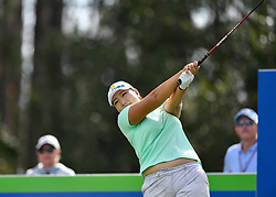 January 19, 2019 - Lake Buena Vista, FL, U.S. - LAKE BUENA VISTA, FL - JANUARY 19: Mirim Lee of South Korea tees off on hole 2 during the third round of the Diamond Resorts Tournament of Champions on January 19, 2019, at Tranquilo Golf Course at Fours Seasons Orlando in Lake Buena Vista, FL. (Photo by Roy K. Miller/Icon Sportswire) (Credit Image: © Roy K. Miller/Icon SMI via ZUMA Press)