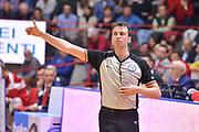DESCRIZIONE : Varese Lega A 2014-15 Openjobmetis Varese Upea Capo d'Orlando<br /> GIOCATORE : Arbitro Referee<br /> CATEGORIA : Mani Arbitro Referee<br /> SQUADRA : Arbitri<br /> EVENTO : Campionato Lega A 2014-2015<br /> GARA : Openjobmetis Varese Upea Capo d'Orlando<br /> DATA : 26/04/2015<br /> SPORT : Pallacanestro<br /> AUTORE : Agenzia Ciamillo-Castoria/M.Ozbot<br /> Galleria : Lega Basket A 2014-2015 <br /> Fotonotizia: Varese Lega A 2014-15 EA7 Openjobmetis Varese Upea Capo d'Orlando