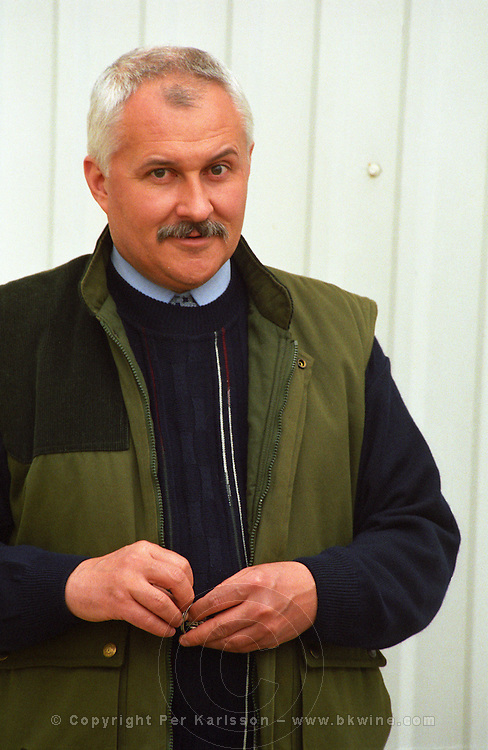 """The Royal Tokaji Wine Company winery: Mr. István Turoczi, the director and wine maker of the Company. Istvan. The RTWC in was one of the first Tokaj wineries to be """"revived"""" by an injection of foreign capital. It makes wine in a traditional style. Credit Per Karlsson BKWine.com"""