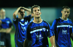 Dario Smitran of Gorica after 2nd match of 1st round Intertoto Cup soccer match between ND Gorica and Hibernians FC at Sports park, on June 28,2008, in Nova Gorica, Slovenia. (Photo by Vid Ponikvar / Sportal Images)