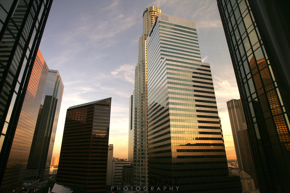 Downtown Los Angeles. I 110 North..photo by Jason Doiy.11-22-05.039-2005