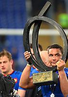 Thierry DUSAUTOIR - 15.03.2015 - Rugby - Italie / France - Tournoi des VI Nations -Rome<br /> Photo : David Winter / Icon Sport