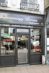 Barbers that has closed due to Coronavirus, Norwich UK March 2020