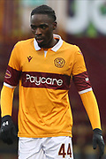 Devante Cole (Motherwell) during the Scottish Premiership match between Motherwell and Celtic at Fir Park, Motherwell, Scotland on 8 November 2020.