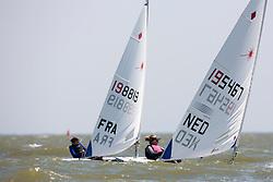 Laser radial, May 25th 2012. Delta Lloyd Regatta  (22/26 May 2012). Medemblik - the Netherlands.