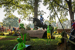 Kyle Tanya (GBR) - Undoctro du Rouet<br /> Cross country 6 years old horses<br /> Mondial du Lion - Le Lion d'Angers 2014<br /> © Dirk Caremans<br /> 18/10/14