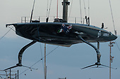 210127 American Magic sail repaired Patriot