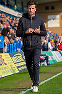 Rochdale caretaker manager Brian Barry-Murphy during the EFL Sky Bet League 1 match between Gillingham and Rochdale at the MEMS Priestfield Stadium, Gillingham, England on 30 March 2019.