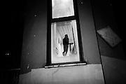 Il centro di accoglienza nel quartiere di Tor Sapienza che accoglie minori richiedenti asilo, Roma 11 Novembre 2014.  Christian Mantuano / OneShot