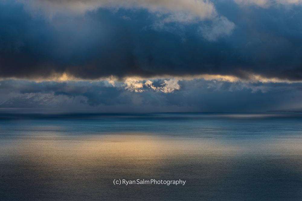 Moody Clouds over Lake Tahoe