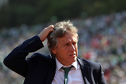 May 20, 2018 - Lisbon, Portugal - Sporting's head coach Jorge Jesus from Portugal reacts during the Portugal Cup Final football match CD Aves vs Sporting CP at the Jamor stadium in Oeiras, outskirts of Lisbon, on May 20, 2015. (Credit Image: © Pedro Fiuza/NurPhoto via ZUMA Press)