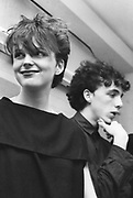 Clare Grogan and Altered Images backstage 1981