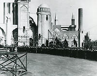 1923 Filming Thief Of Bagdad at Pickford-Fairbanks Studio