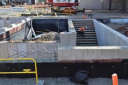 Foundation of Mechanical Room area. Central Connecticut State University. New Academic Building. Project No: BI-RC-324. Architect: Burt Hill Kosar Rittelmann Associates. Contractor: Gilbane, Inc.