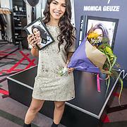 """NLD/Amsterdam//20170504 - Boekpresentatie Monica Geuze - """"My Way"""", Monica Geuze met haar eerste boek"""