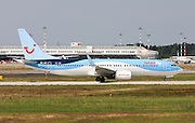 JetAirFly Boeing 737-800 Next Gen, Photographed at Malpensa airport, Milan, Italy