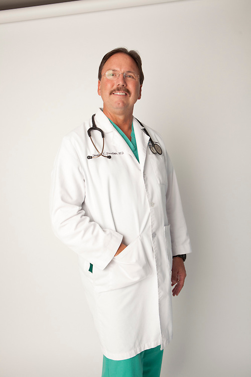 22 August 2011- Dr Douglas Brouillette is photographed at Midwest GI for the company's promotional material.