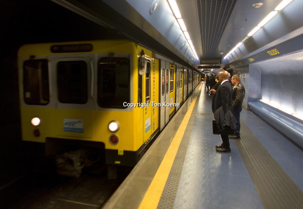 subway station Toledo in naples