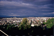 CS00019-14 Portland Bird's-eye view from King's Heights. September 1973.