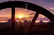 View from Goulding's Trading Post, Monument Valley, Arizona