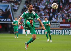 22.09.2018,1. BL, FC Augsburg vs Werder Bremen, WWK Arena Augsburg, Sport, im Bild:...Martin Harnik (Bremen)...DFL REGULATIONS PROHIBIT ANY USE OF PHOTOGRAPHS AS IMAGE SEQUENCES AND / OR QUASI VIDEO...Copyright: Philippe Ruiz..Tel: 089 745 82 22.Handy: 0177 29 39 408.e-Mail: philippe_ruiz@gmx.de. (Credit Image: © Philippe Ruiz/Xinhua via ZUMA Wire)
