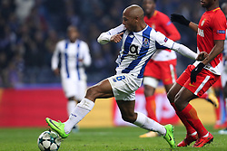 December 6, 2017 - Porto, Porto, Portugal - Porto's Algerian forward Yacine Brahimi score a goal during the UEFA Champions League Group G match between FC Porto and AS Monaco FC at Dragao Stadium on December 6, 2017 in Porto, Portugal. (Credit Image: © Dpi/NurPhoto via ZUMA Press)