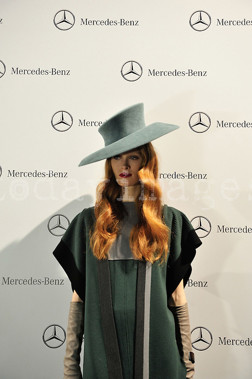 Sara Coleman in Mercedes-Benz Fashion Week Madrid 2013