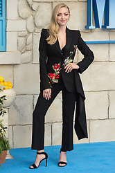 © Licensed to London News Pictures. 16/07/2018. London, UK. Amanda Seyfried attends the Mamma Mia! Here We Go Again World Film Premiere at Eventime Apollo Hammersmith. Photo credit: Ray Tang/LNP