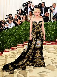 Emilia Clarke attending the Metropolitan Museum of Art Costume Institute Benefit Gala 2018 in New York, USA