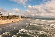 The Coast Of Oceanside Shoreline