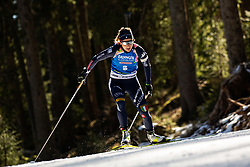 Federica Sanfilippo (ITA) during the Women 15 km Individual Competition at day 2 of IBU Biathlon World Cup 2019/20 Pokljuka, on January 23, 2020 in Rudno polje, Pokljuka, Pokljuka, Slovenia. Photo by Peter Podobnik / Sportida