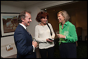 CHRISTOPHER LINDSAY; KATY ANDREEVA; hon ALEX FOLEY, The hon Alexandra Foley hosts drinks to introduce ' Lady Foley Grand Tour' with special guest Julian Fellowes. the Sloane Club. Lower Sloane st. London. 14 May 2014