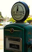 Vintage Los Olivos Gas Pump