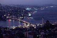 River Running Through City