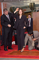 2/16/2005 Sherry Lansing's hand/footprint ceremony at the Chinese Theater