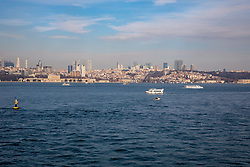 View Of Bosphorus & Istanbul