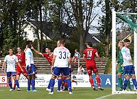 Fotball , 17. september 2016 , Eliteserien , PostNord-ligaen avd 3 , Vidar - Vålerenga 2<br />Per Eik Forgaard fra Vidar Skårer mål.<br />Foto: Andrew Halseid Budd , Digitalsport