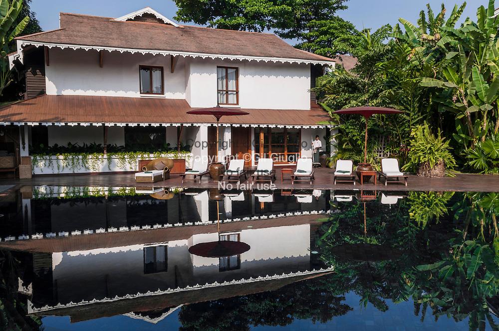 Myanmar, Yangon, hôtel Governor Residence du groupe Fairmont ex Orient Express // Myanmar, Yangon, Governor Residence hotel by Fairmont Group, ex Orient Express company