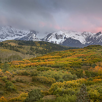 A sublime sunset in the San Juan Mountains of southwest Colorado.