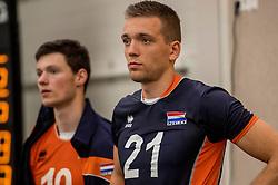 24-09-2016 NED: EK Kwalificatie Nederland - Wit Rusland, Koog aan de Zaan<br /> Nederland wint na een 2-0 achterstand in sets met 3-2 / Sjoerd Hoogendoorn #21