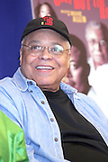 """James Earl Jones , at """" Cat on a Hot Tin Roof """" Press conference announcing limited broadway run,  at Broad Hurst Theater on January 8, 2008 in New York City"""