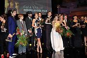 NFF - Nederlands Filmfestival - uitreiking van de Gouden Kalveren in Tivolli Utrecht.<br /> <br /> op de foto:  Alle Gouden Kalf Winnaars