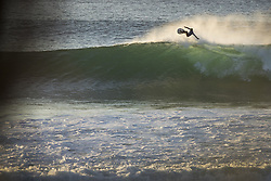 July 19, 2017 - Filipe Toledo of Brazil started the resurf of Round Four Heat 3 of the Corona Open J-Bay by boosing a massive aerial to post a near perfect 9.00 point ride at Supertubes, Jeffreys Bay, South Africa..Corona Open J-Bay, Eastern Cape, South Africa - 19 Jul 2017. (Credit Image: © Rex Shutterstock via ZUMA Press)