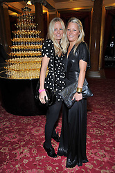 Left to right, sisters ASTRID & DAVINA HARBORD at a party to celebrate 300 years of Tatler magazine held at Lancaster House, London on 14th October 2009.