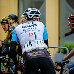 GERA (GER) cycling<br />Some impressions from the second stage  Thueringen Rundfahrt women . Mieke Kroger